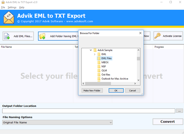 extract eml attachment