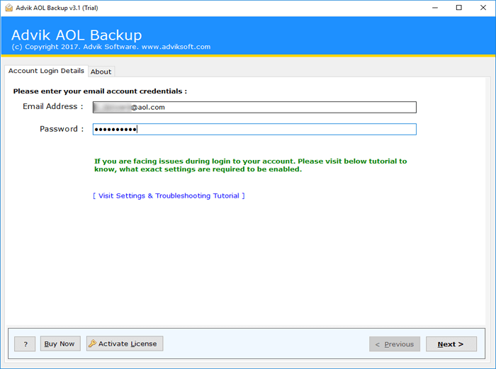 export aol emails to gmail