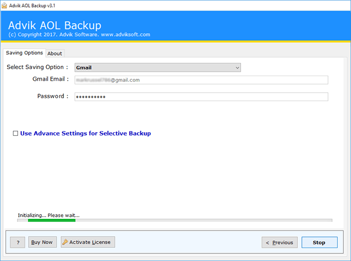 migrate from aol mail to gmail